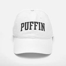 Puffin (curve-grey) Baseball Baseball Cap