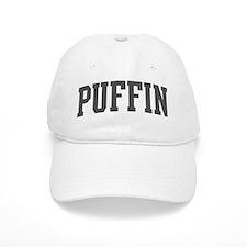 Puffin (curve-grey) Baseball Cap