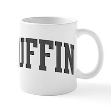 Puffin (curve-grey) Small Mug