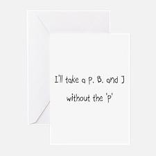 Cute J Greeting Cards (Pk of 20)