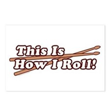 How I (Drum) Roll Postcards (Package of 8)