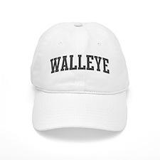 Walleye (curve-grey) Baseball Cap