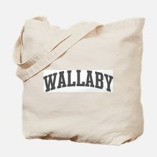 Wallaby (curve-grey) Tote Bag