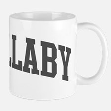 Wallaby (curve-grey) Mug