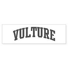 Vulture (curve-grey) Bumper Bumper Sticker