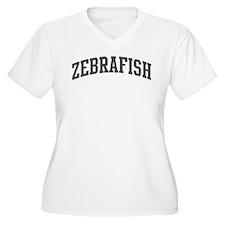 Zebrafish (curve-grey) T-Shirt