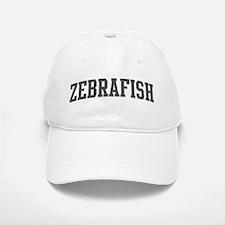 Zebrafish (curve-grey) Baseball Baseball Cap