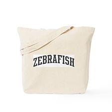 Zebrafish (curve-grey) Tote Bag