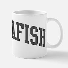 Zebrafish (curve-grey) Mug
