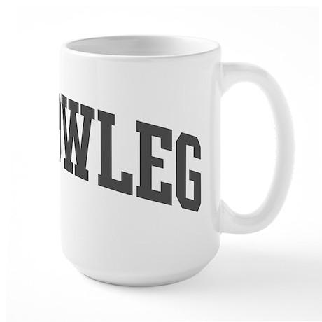 Yellowleg (curve-grey) Large Mug