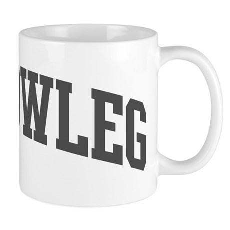 Yellowleg (curve-grey) Mug