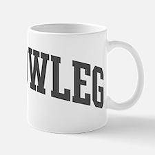 Yellowleg (curve-grey) Mug
