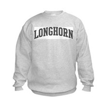 Longhorn (curve-grey) Sweatshirt