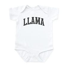 Llama (curve-grey) Infant Bodysuit