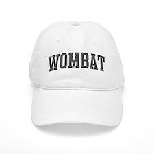 Wombat (curve-grey) Baseball Cap