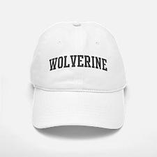 Wolverine (curve-grey) Baseball Baseball Cap