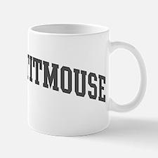 Tufted Titmouse (curve-grey) Mug