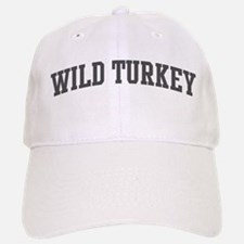 Wild Turkey (curve-grey) Baseball Baseball Cap
