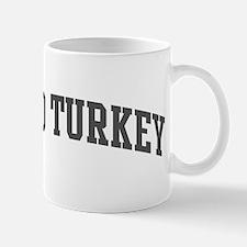 Wild Turkey (curve-grey) Mug