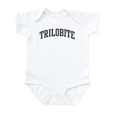 Trilobite (curve-grey) Infant Bodysuit