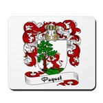 Paquet Family Crest Mousepad