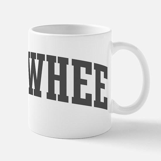 Towhee (curve-grey) Mug