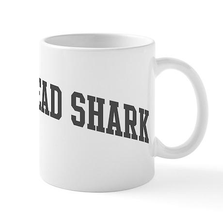 Hammerhead Shark (curve-grey) Mug