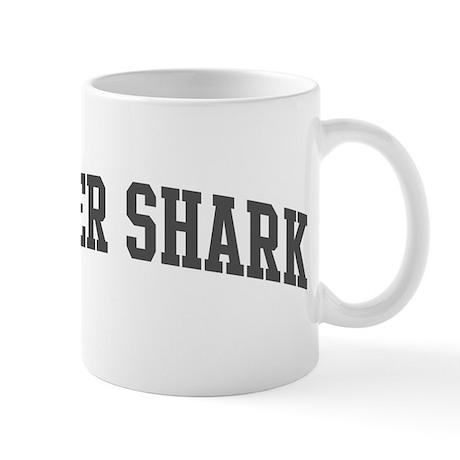 Tiger Shark (curve-grey) Mug