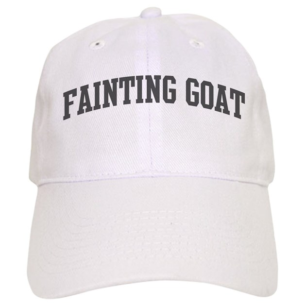 Fainting Goat Curve Grey Hat By Animally