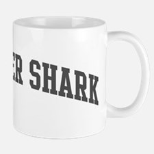 Thresher Shark (curve-grey) Mug