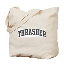 Thrasher (curve-grey) Tote Bag
