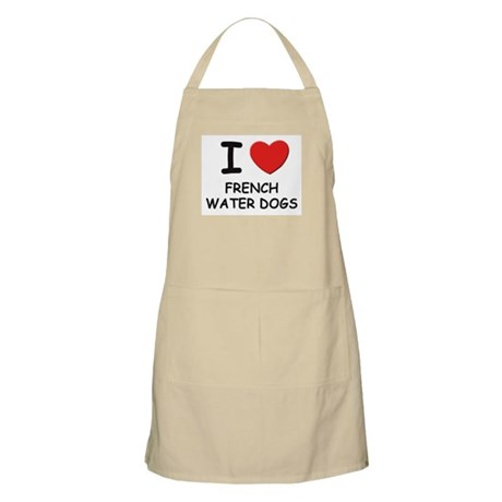 I love FRENCH WATER DOGS BBQ Apron