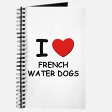 I love FRENCH WATER DOGS Journal