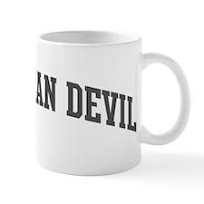 Tasmanian Devil (curve-grey) Mug