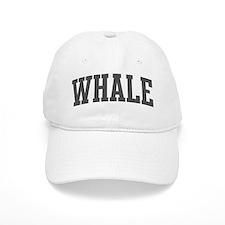 Whale (curve-grey) Baseball Cap