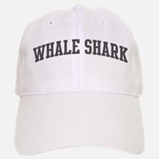 Whale Shark (curve-grey) Baseball Baseball Cap
