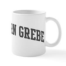 Western Grebe (curve-grey) Mug