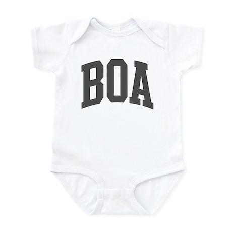 Boa (curve-grey) Infant Bodysuit