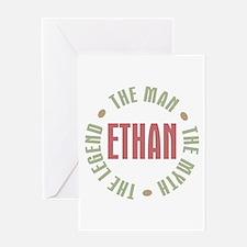 Ethan Man Myth Legend Greeting Card