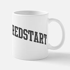 American Redstart (curve-grey Mug
