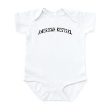 American Kestrel (curve-grey) Infant Bodysuit