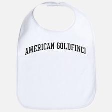 American Goldfinch (curve-gre Bib