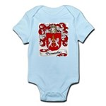 Parmentier Family Crest Infant Creeper