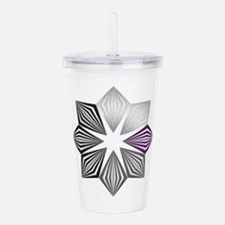 Demisexual Pride Starb Acrylic Double-wall Tumbler