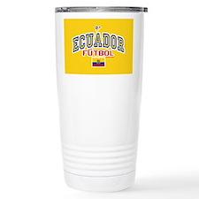 Ecuador Futbol/Soccer Travel Mug