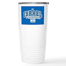 Israel Football/Soccer Travel Mug