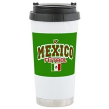 Mexico Futbol/Soccer Travel Mug