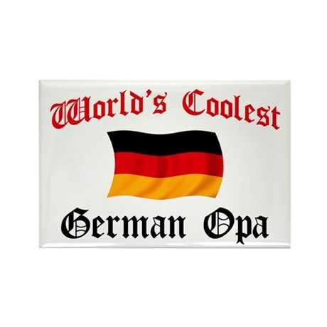 Coolest German Opa Rectangle Magnet