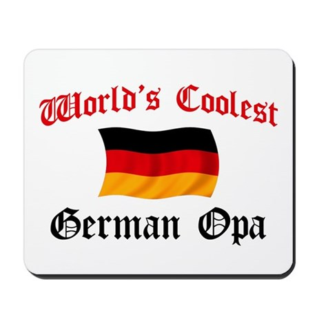 Coolest German Opa Mousepad