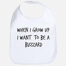 Grow up - Buzzard Bib